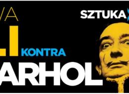 Gala kontemplująca wystawę Dali kontra Warhol, którapodwudziestu metrach staje się wystawą bezpuenty